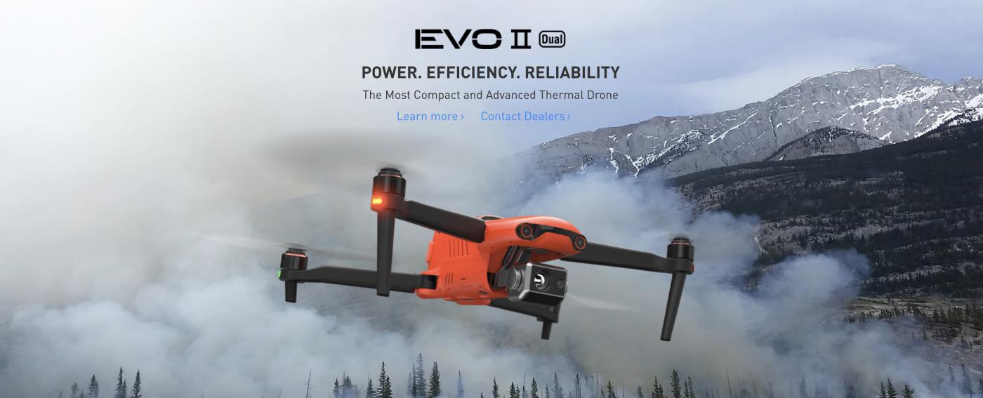 EVO II Dual, Thermal drone