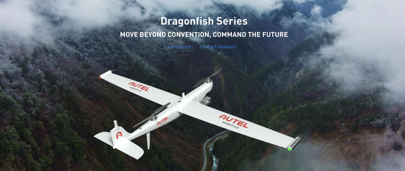 Dragonfish drone