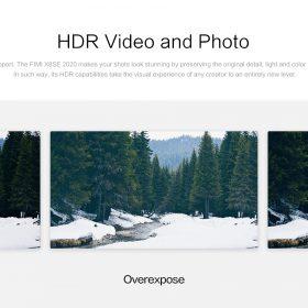 x8se2020 HDR비디오 및 사진
