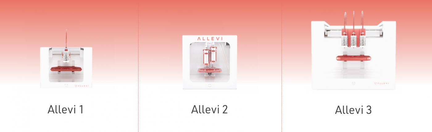 Allevi Bio 3D 프린터, Pharmaceutical Science, Born tissue engineering, Skin printing, Hydrogels, Kidney tissue
